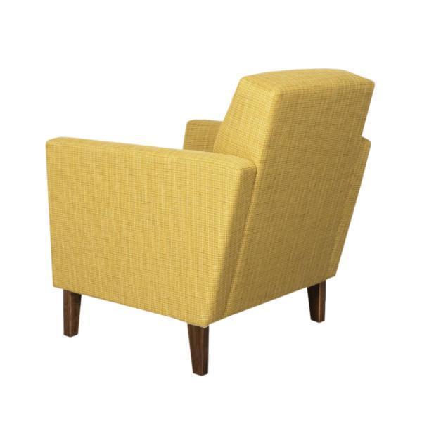 Keltainen nojatuoli, Retro nojatuoli
