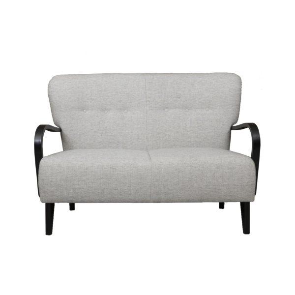 Brita kahden istuttava sohva.