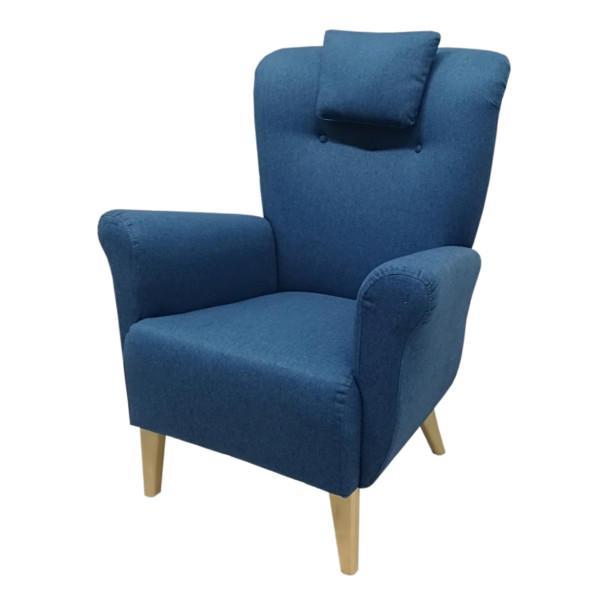 Brita korkeaselkäinen nojatuoli